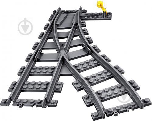 Конструктор LEGO City Залізничні стрілки 60238 - фото 2