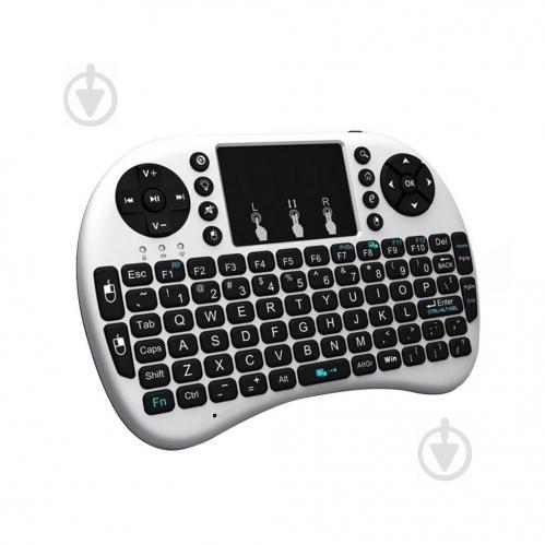 Беспроводная клавиатура с трехцветной подсветкой Noisy White (50228_my) - фото 1