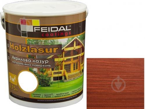 Feidal Holzlasur красное дерево шелковистый глянец 0,75 л - фото 1