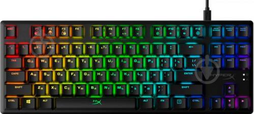 Клавіатура HyperX Alloy Origins Core USB (HX-KB7RDX-RU) black - фото 1