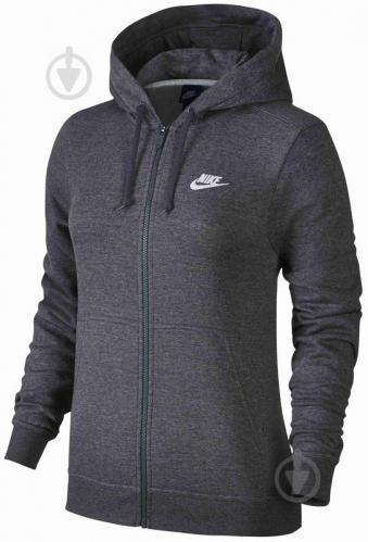 Джемпер Nike W NSW HOODIE FZ FLC р. L черный 853930-071