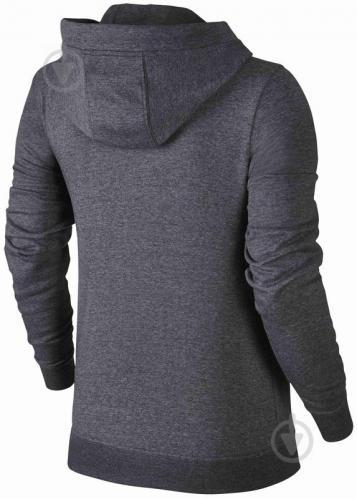 Джемпер Nike W NSW HOODIE FZ FLC р. L черный 853930-071 - фото 2