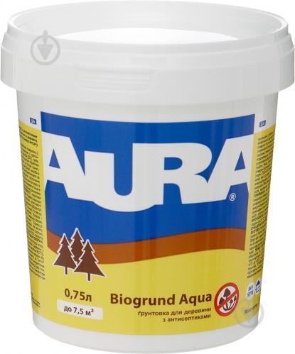 Грунтовка Aura® Biogrund Aqua не создает пленку 0,75 л - фото 1
