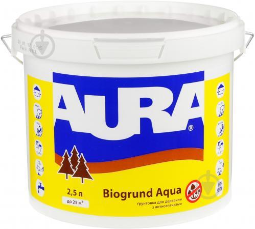 Грунтовка Aura® Biogrund Aqua не создает пленку 2,5 л - фото 1