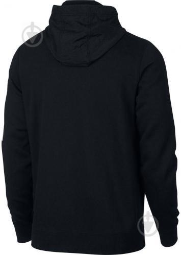 Джемпер Nike M NSW HBR+ HOODIE FZ FLC 931900-010 р. L черный - фото 2