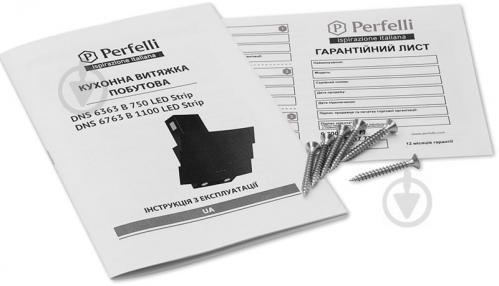Витяжка Perfelli DNS 6763 B 1100 BL LED Strip - фото 6