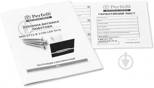 Вытяжка Perfelli DNS 6733 B 1100 BL/I LED Strip - фото 7
