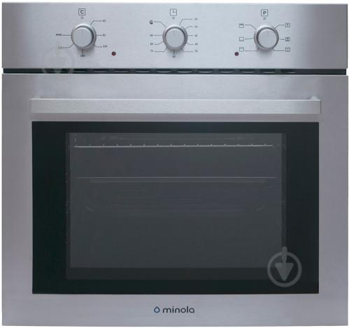 Духовой шкаф Minola OE 6603 Inox - фото 1