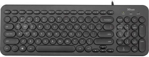Клавіатура Trust MUTO SILENT (23408) black - фото 1