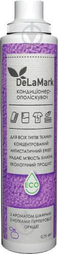 Кондиціонер для білизни DeLaMark з ароматом шафрану та нотками пурпурової орхідеї 0,75 л - фото 1