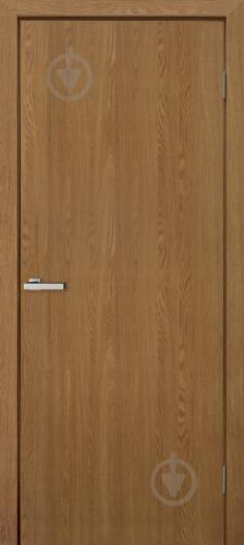 Дверное полотно ОМиС МДФ глухое ПГ 800 мм ольха европейская