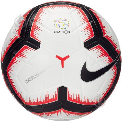 ᐉ Футбольний м яч Nike SC3371-100 LP NK MERLIN р. 5 SC3371-100 ... 37578cac9bbc1
