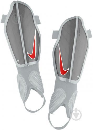 Щитки футбольные Nike Y NK CHRG GRD р. M серый