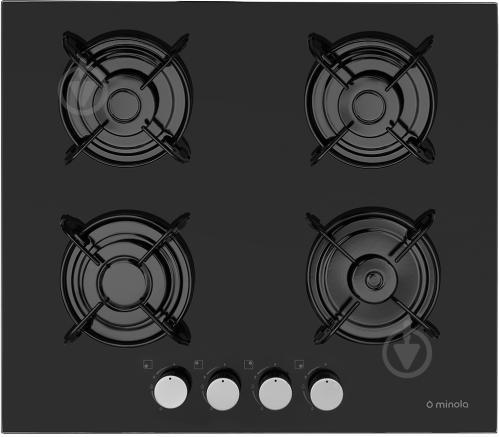 Варочная поверхность Minola MGG 61005 BL - фото 1