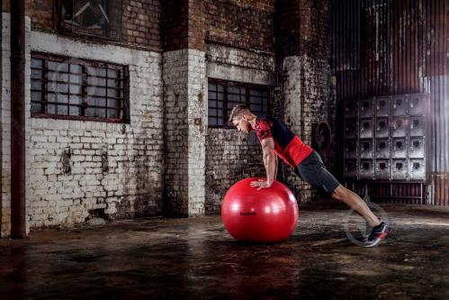 Мяч для фитнеса Reebok d75 RAB-11017RD - фото 3