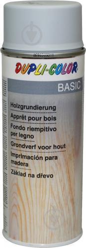 Ґрунт аерозольний для дерев'яних поверхонь Dupli-Color сірий 400 мл