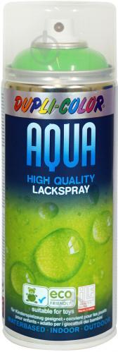 Емаль аерозольна Dupli-Color Aqua RAL 6018 світло-зелений глянець 350 мл