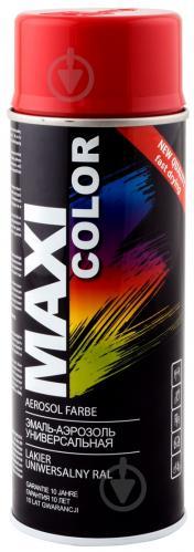 Емаль аерозольна RAL 3002 Maxi Color кармінний-червоний 400 мл