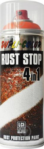 Емаль аерозольна Rust Stop 4 в 1 RAL 2004 Dupli-Color помаранчевий 400 мл