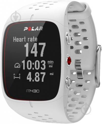 ᐉ Спортивний годинник Polar M430 white (90064407) • Краща ціна в ... 5f213cf7f6c33