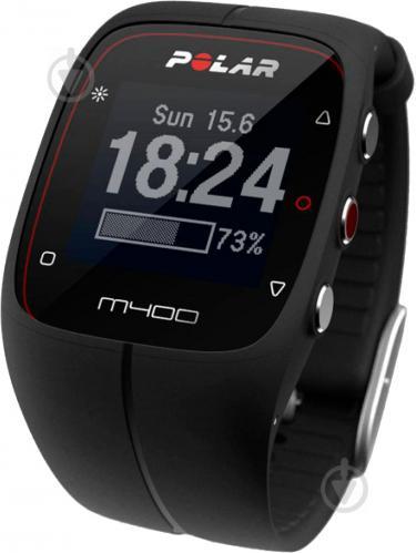 ᐉ Спортивний годинник Polar M400 black (90053834) • Краща ціна в ... 780fdede5bfb5