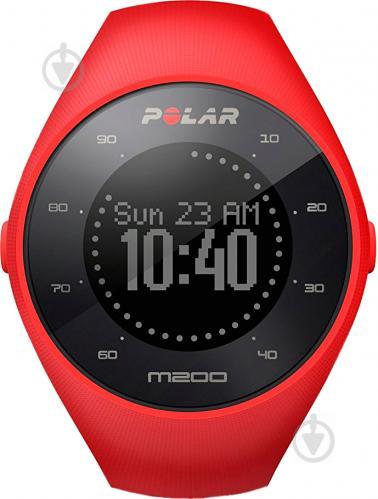 ᐉ Спортивний годинник Polar M200 M L red (90061217) • Краща ціна в ... b015513094386
