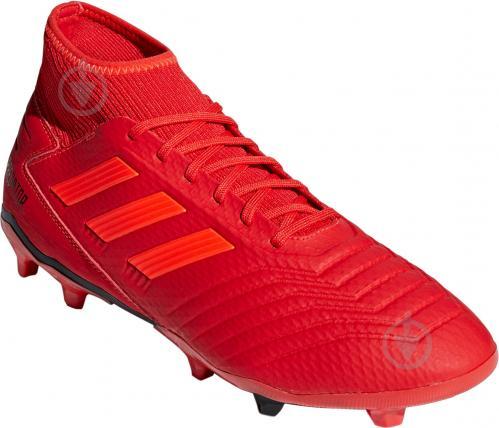 6060c67a ᐉ Бутсы Adidas PREDATOR 19.3 FG BB9334 11 красный • Купить в Киеве ...