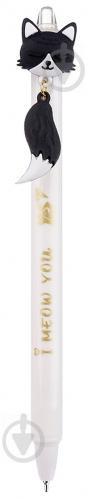 Ручка масляна YES Color Cats 0,7 мм колір в асортименті 412010 - фото 1