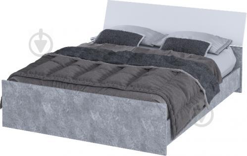 Ліжко Aqua Rodos Hennessy 160x200 см сірий