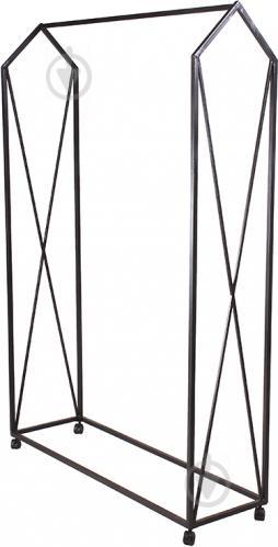 Вешалка для одежды Метал Арт 28135 передвижная черный - фото 1