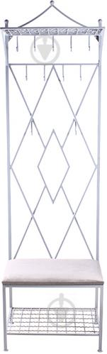Вешалка для одежды Метал Арт 27009 Ромб белый - фото 1