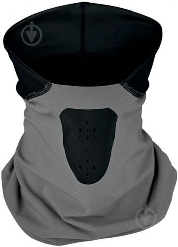 Повязка Nike SHIELD PHENOM RUNNING NECKWARMER N.100.0596.087 р.S/M серый/черный - фото 1