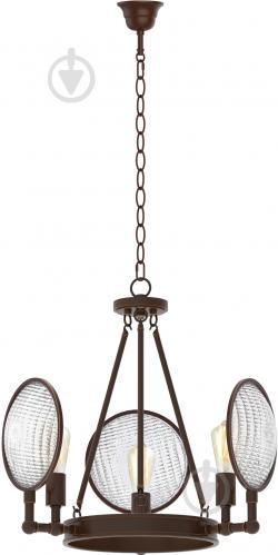 Люстра подвесная Victoria Lighting 3xE27 коричневый Dorian/SP3