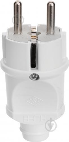 76a0fb3690275b ᐉ Вилка електрична ALFA 16 А із заземленням 220В 16А білий • Краща ...
