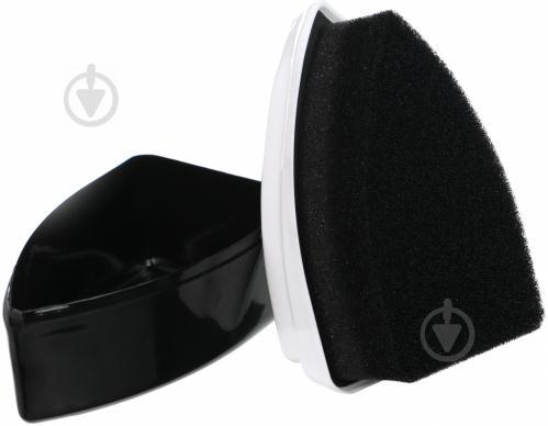 Губка для гладкої шкіри SALAMANDER Shoe Shine чорний - фото 3