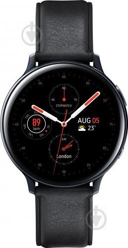 Смарт-часы Samsung Galaxy watch Active 2 44 mm black stainless steel (SM-R820NSKASEK) - фото 1