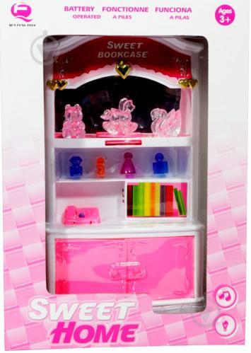 ᐉ книжный шкаф Qun Feng Toys для куклы сладкий домик 2540p купить