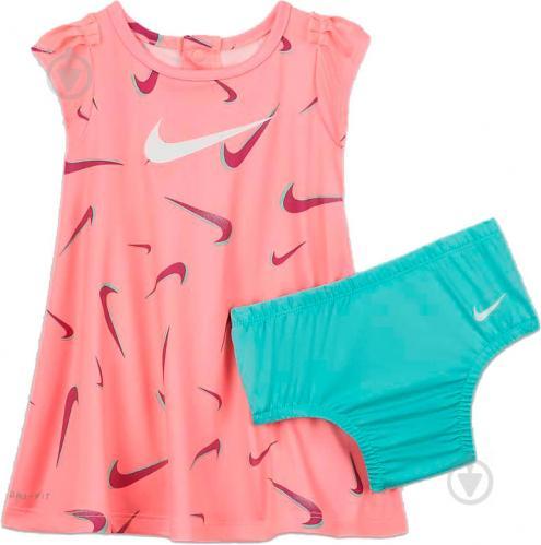 Сукня Nike DRI-FIT PRINTED DRESS 06H331-A0G р. 0-3M - фото 1