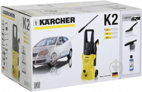 Мінімийка KARCHER К2 CAR 1.673-228.0 - фото 11