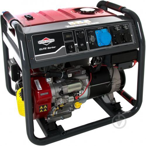 Бензиновый генератор briggs stratton elite 8500еа ручной сварочный аппарат сва 780т