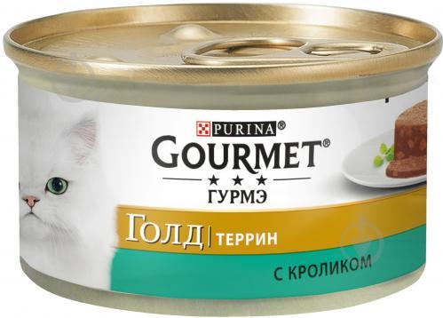 Корм Gourmet терін з кроликом 85 г - фото 1