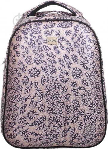 Рюкзак шкільний каркасний FANTASY World 31х13,5х40 см рожевий візерунок ba273861a1c