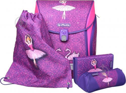 cab9fcc870d2 ᐉ Рюкзак школьный Herlitz укомплектованный Midi Plus Ballerina ...