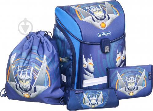de57c921050b ᐉ Рюкзак шкільний Herlitz укомплектований Midi Plus Robot • Краща ...