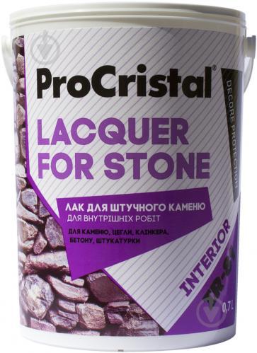 Лак акриловий для штучного каменю ІР-81 ProCristal 0,7 л молочний - фото 1