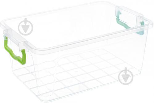 Контейнер для хранения с кришкой Ал-Пластик №6 135x205x310 мм - фото 1