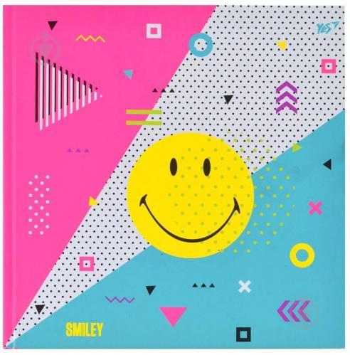 Блокнот для записей Smiley 7БЦ 20x20 см 96 лист. YES - фото 1