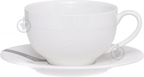 Чашка с блюдцем Diamond 230 мл Fiora - фото 4