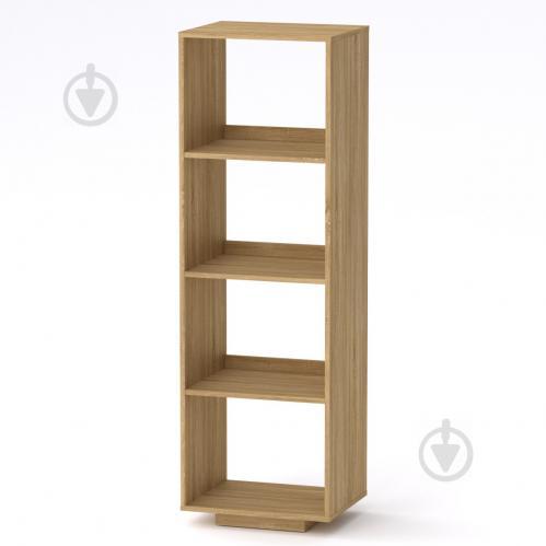 Шкаф книжный Компанит МГ-5 тумба-3 Компанит Дуб сонома (50х40х158 см) - фото 1