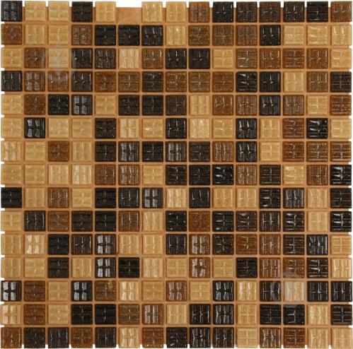 Плитка Value Ceramics мозаика коричневый микс CT22405 32,7x32,7